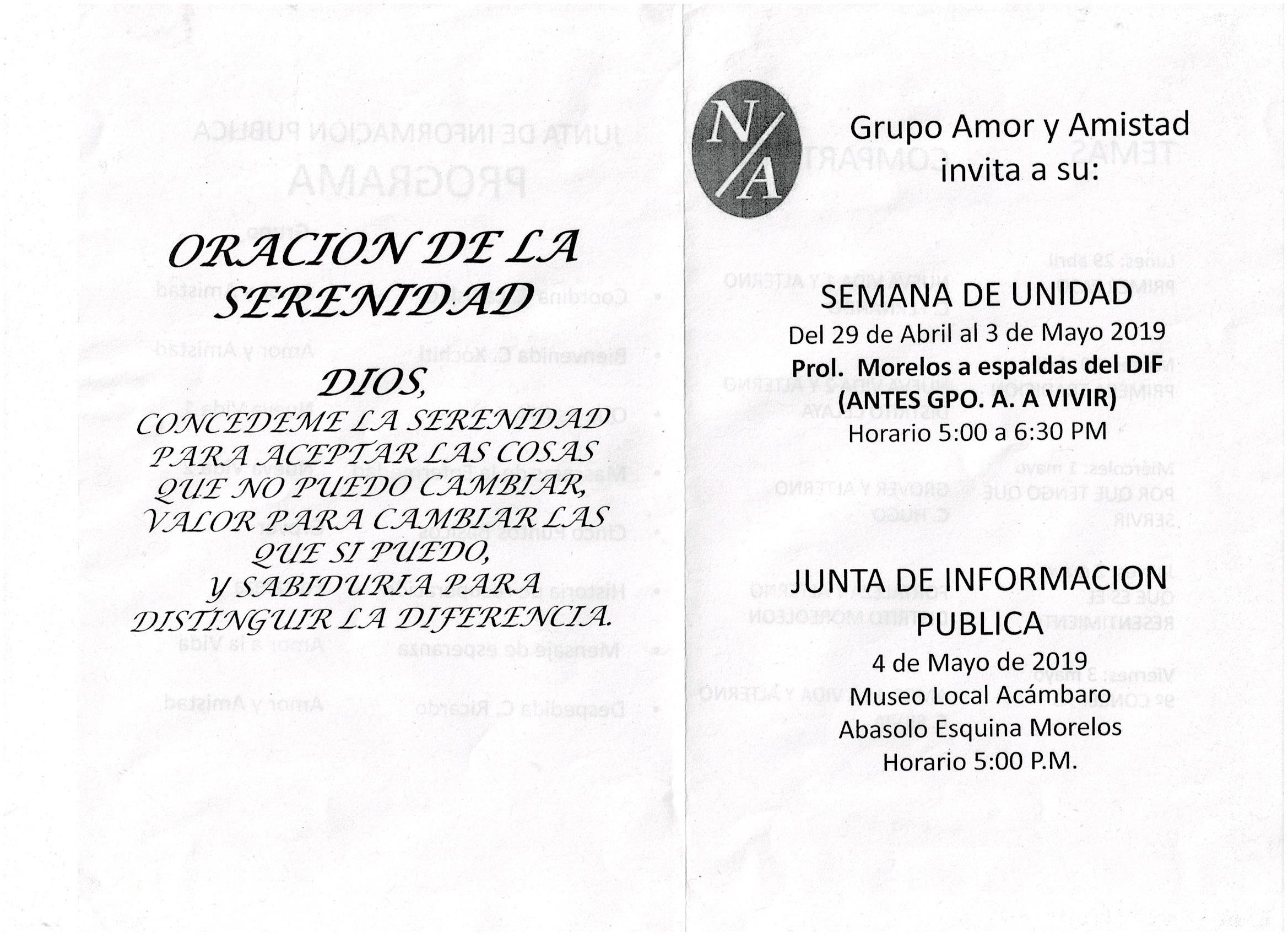 INVITACIONES A EVENTOS